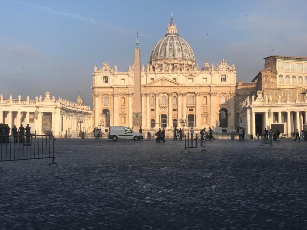 St Peter's the Vatican